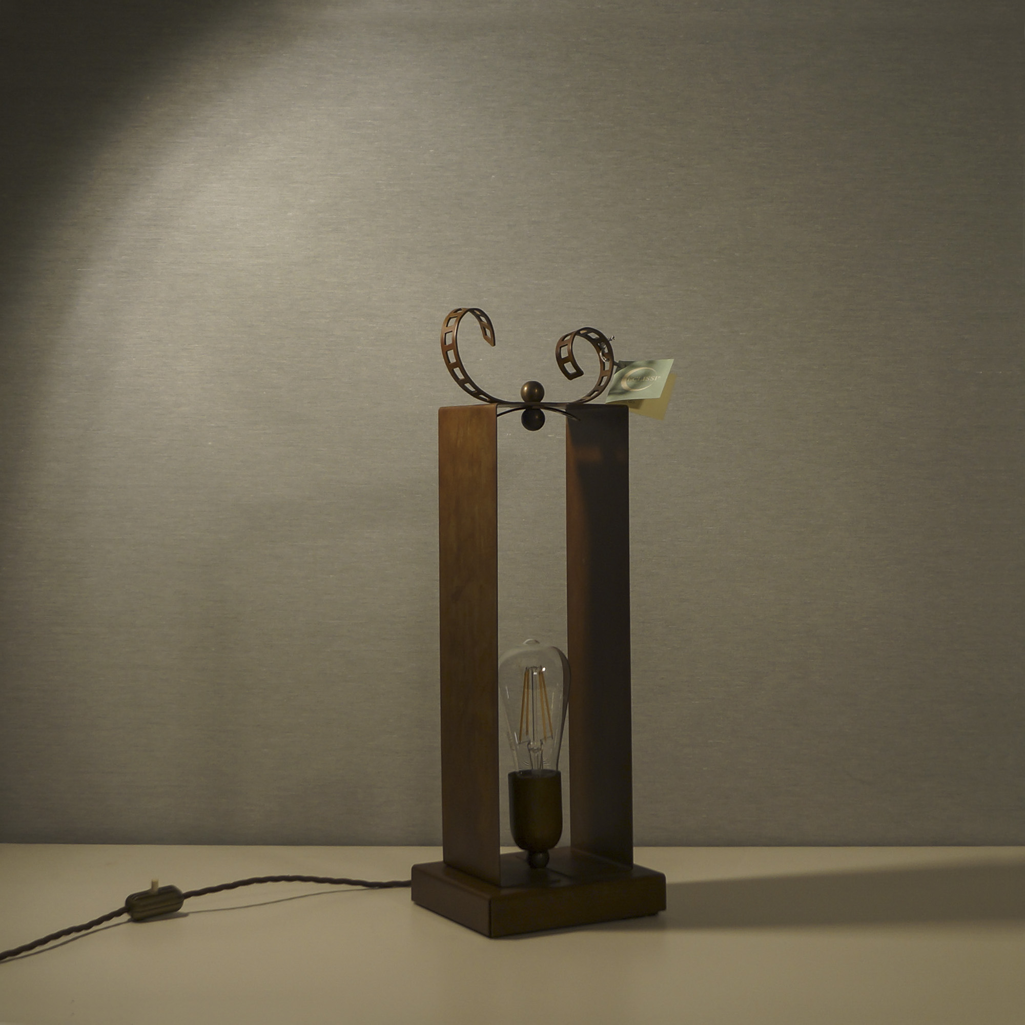 Lampada Ruggine di ferro