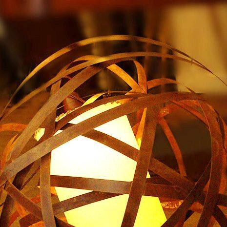 lampada ruggine